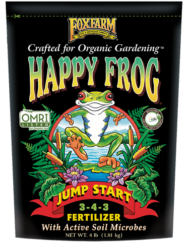 Fox Farm Happy Frog Jump Start Fertilizer (4 lbs.)
