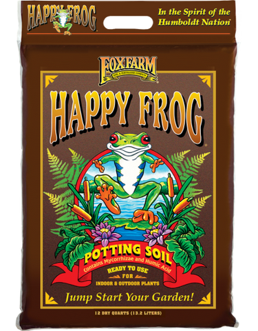 Fox Farm Happy Frog Potting Soil - Multiple Sizes