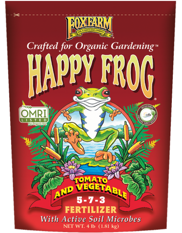 Fox Farm Happy Frog Tomato & Vegetable Fertilizer (4 lbs.)