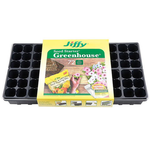 Jiffy 72-Cell Seed Starter Greenhouse