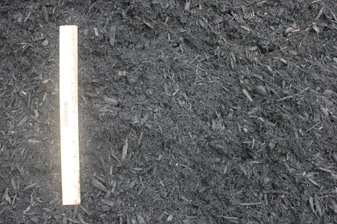 Midnight Black Mulch - per yard