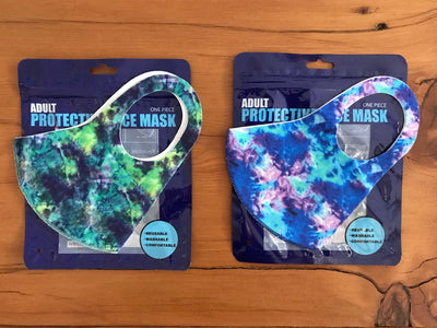 Village Vogue 3D Washable Tie Dye Face Mask