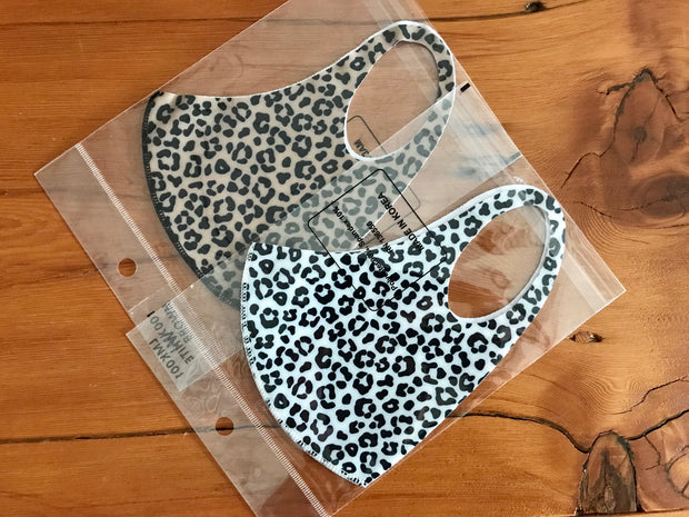 3D Washable Animal Print Face Mask