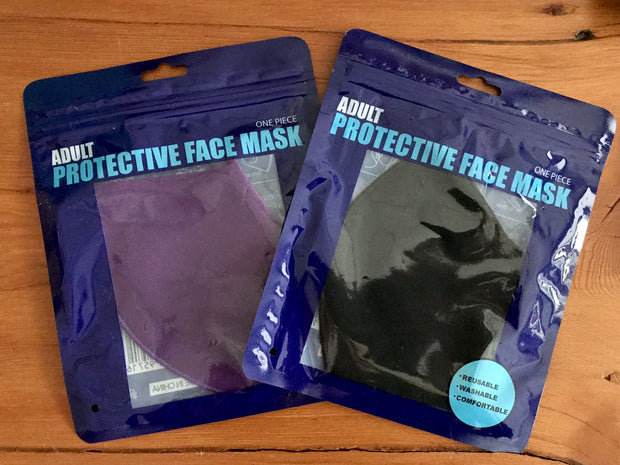 3D Washable Solid Polyester Face Mask