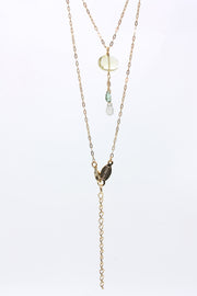 AV Max Semi Precious Y Necklace
