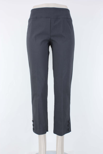 Elliott Lauren Pull-on Ankle Pant in gunmetal.