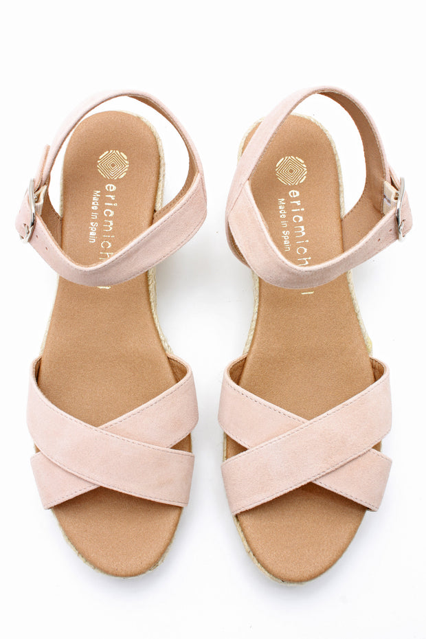 Village Vogue Eric Michael Ashley sandal Nude