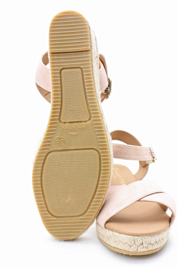 Eric Michael Women's Ashley Sandal Nude