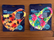 3D Washable Tie Dye Face Mask