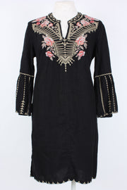 Johnny Was Rianne Flare Sleeve Tunic Dress