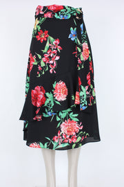 Joseph Ribkoff Black Multi Skirt