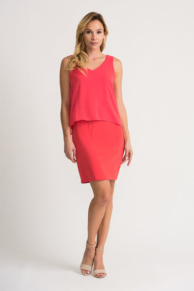 Joseph Ribkoff Papaya Dress Style 202398