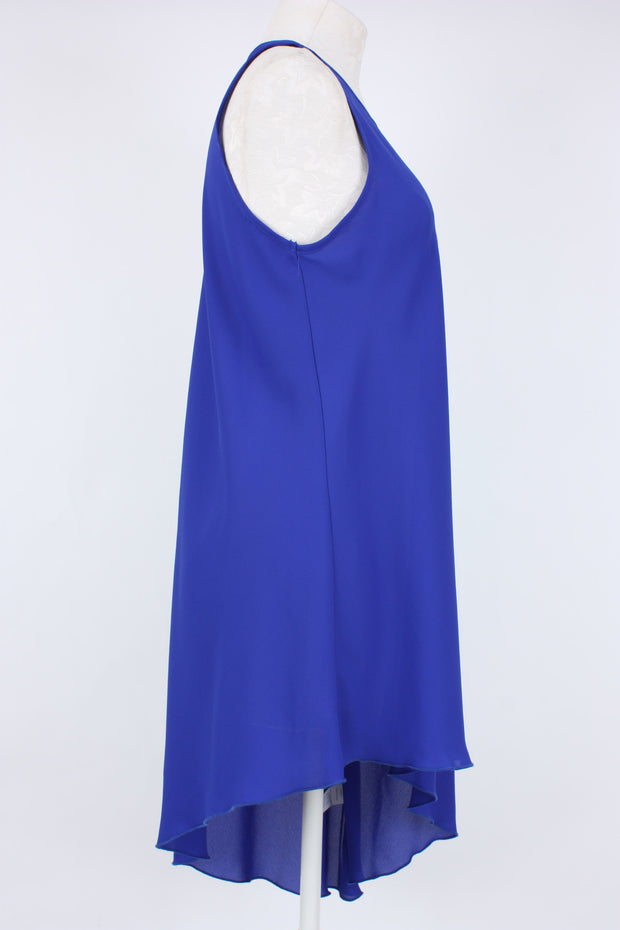 Kay Celine Asymmetric Chelsie Top Royal