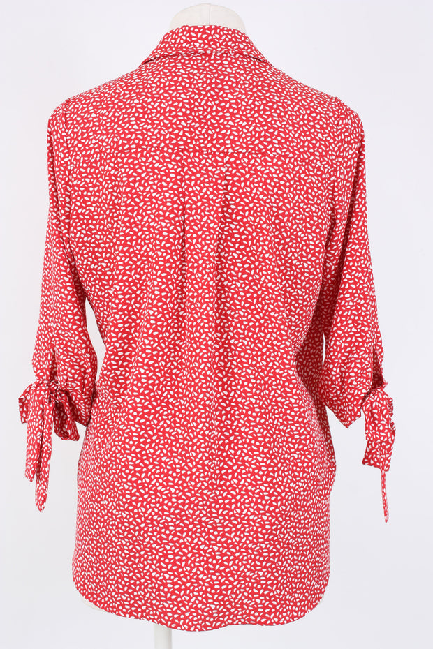 Kay Celine Morgan Wrap Top