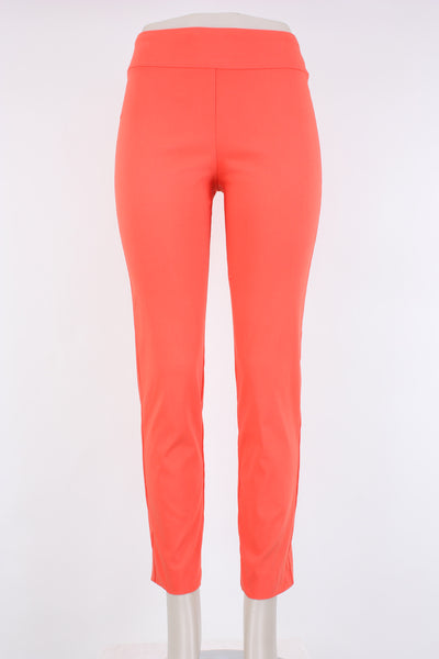 Krazy Larry Pull on Pant Tangerine