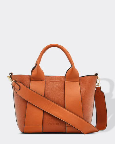 Louenhide Baby Windsor Vegan Over the Shoulder Bag in Tan, Village Vogue.