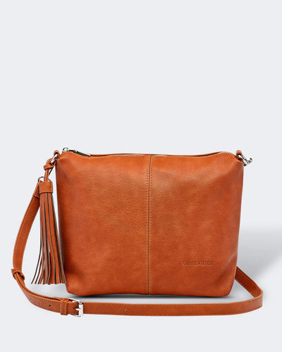 Louenhide Daisy Crossbody Vegan Bag Tan, Village Vogue.