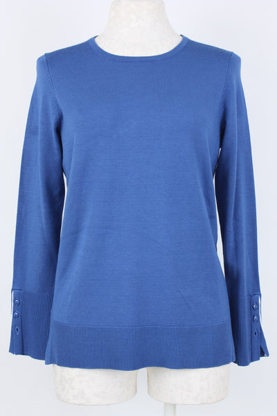 Metric Knits Side Piped Sweater