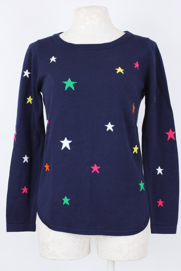Metric Knits Star Front Sweater