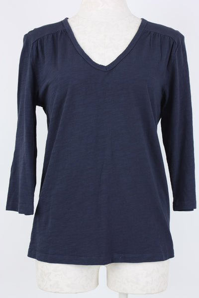 Village Vogue V-Neck Top Twilight Mododoc