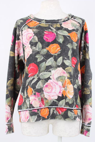 Nicole Miller Reine Rose Sweatshirt perfect loungewear.