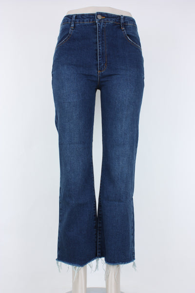 Tractr Jeans High-Rise Kick Flare Jean