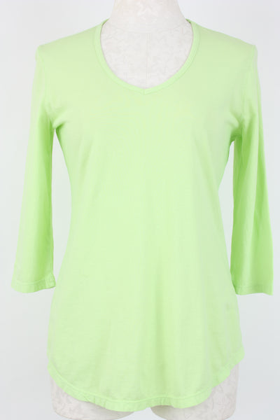Prairie Cotton 3/4 Sleeve Top Spring