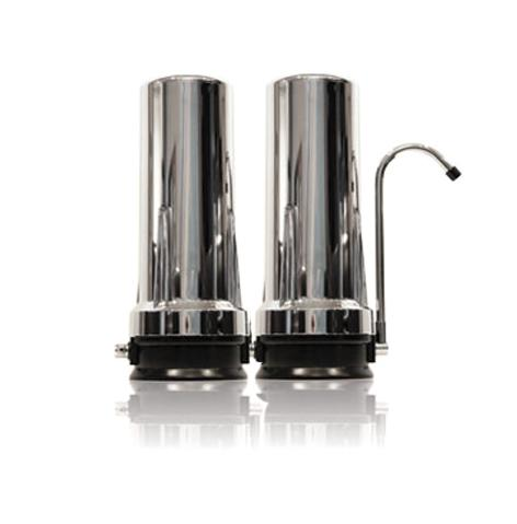 Copy of CT-2K Dual Cartridge Countertop Water Filtration System (Chrome)
