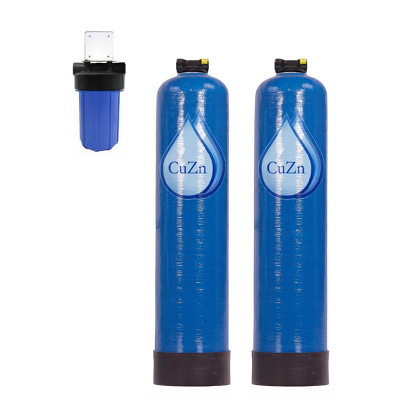 WHCM-47-DTF Chloramine Wide Spectrum + Pro Upgrade, Advanced Whole House Water Filter