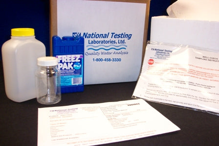 Well Water Test Kit for Radiological Contaminants