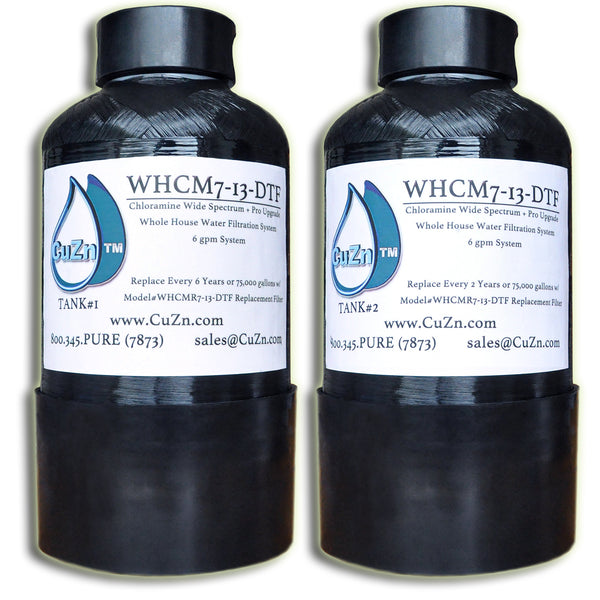 WHCM7-13-DTF Chloramine + Pro Upgrade Whole House Water Filter
