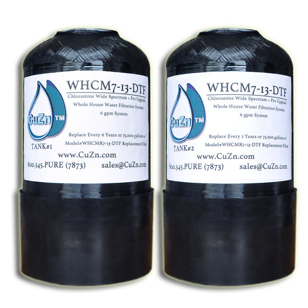 WHCMR7-13-DTF Chloramine Replacement Filters
