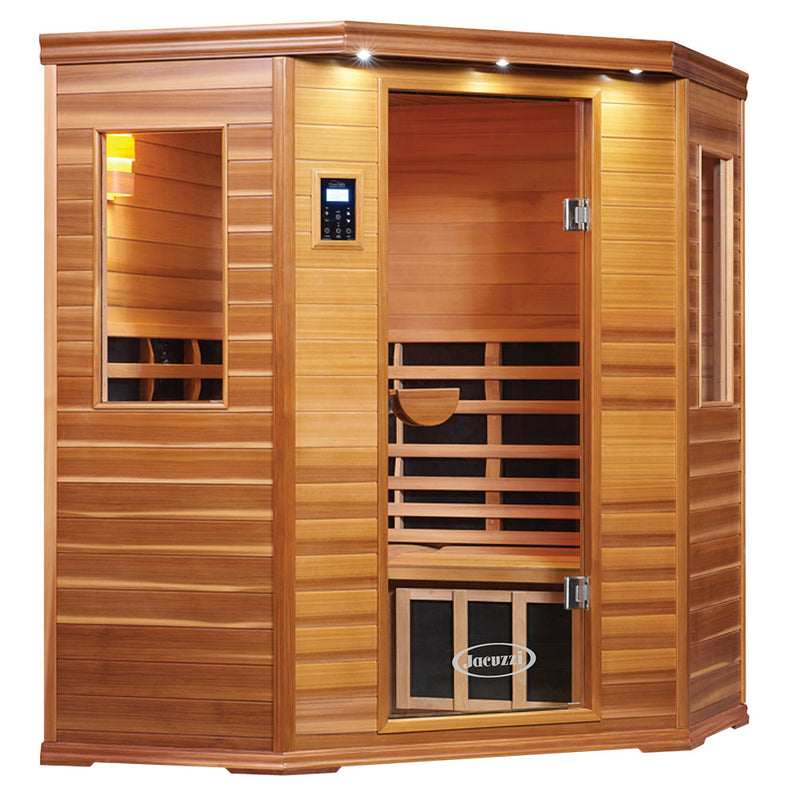 PREMIER IS-C CORNER FAR INFRARED SAUNA (3 Person)
