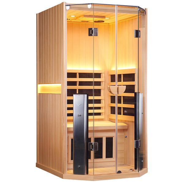 SANCTUARY 1 FULL SPECTRUM INFRARED SAUNA (1 Person)