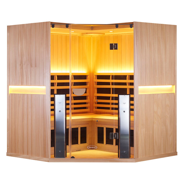 SANCTUARY C FULL SPECTRUM INFRARED CORNER SAUNA (4 person)