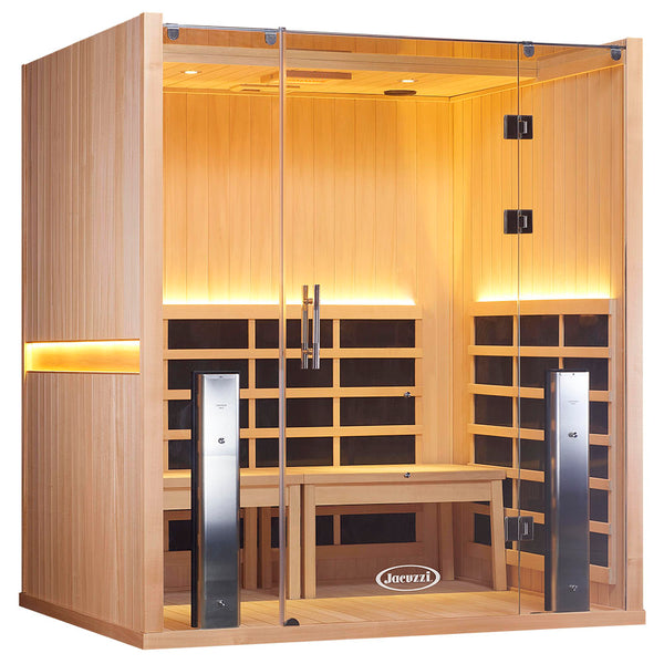 SANCTUARY RETREAT ADA-COMPLIANT FULL SPECTRUM INFRARED SAUNA (4 Person)