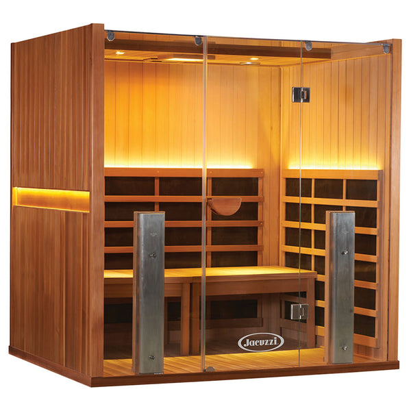 SANCTUARY Y FULL SPECTRUM INFRARED SAUNA AND HOT YOGA ROOM (4 Person)