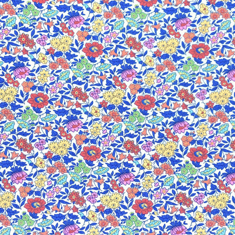 Red Favourite Flowers Liberty Tana Lawn