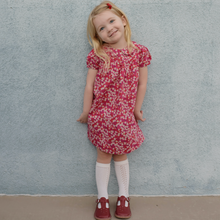Load image into Gallery viewer, Liberty Print Dress | Baby - Girls | Peter Pan Collar |Puff Sleeves | D'Anjo Print