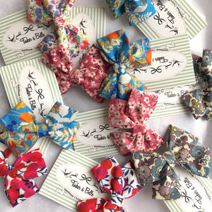 Liberty Print Bow Hairclip |21 Print Options