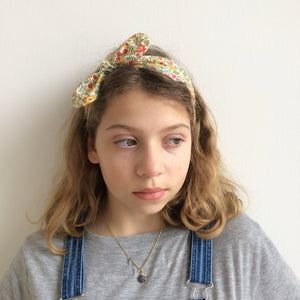 Liberty Print Top-Knot Headband | Baby - Adult Sizes |23 Print Options | Round Ties