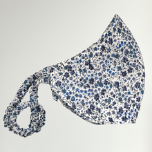 Load image into Gallery viewer, men's liberty print face mask | blue phoebe
