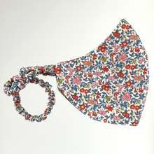 Load image into Gallery viewer, Women's Liberty Print Face Mask Chamomile Lawn