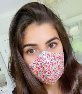 Liberty Print Face Mask Covering