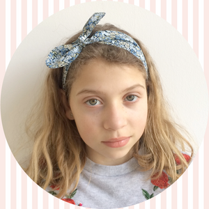 Liberty Print Top-Knot Headband | Baby - Adult Sizes | Betsy Print