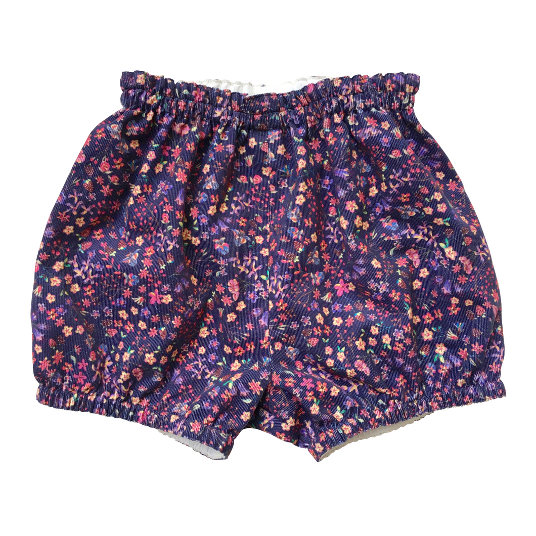 Liberty Corduroy Baby Bloomers | Bubble Shorts | Nappy Diaper Covers | Donna Leigh