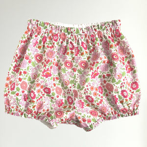 Liberty Print Bloomers | Bubble Shorts | Nappy Diaper Covers | Baby Toddler | D'Anjo Print | 3 Colours
