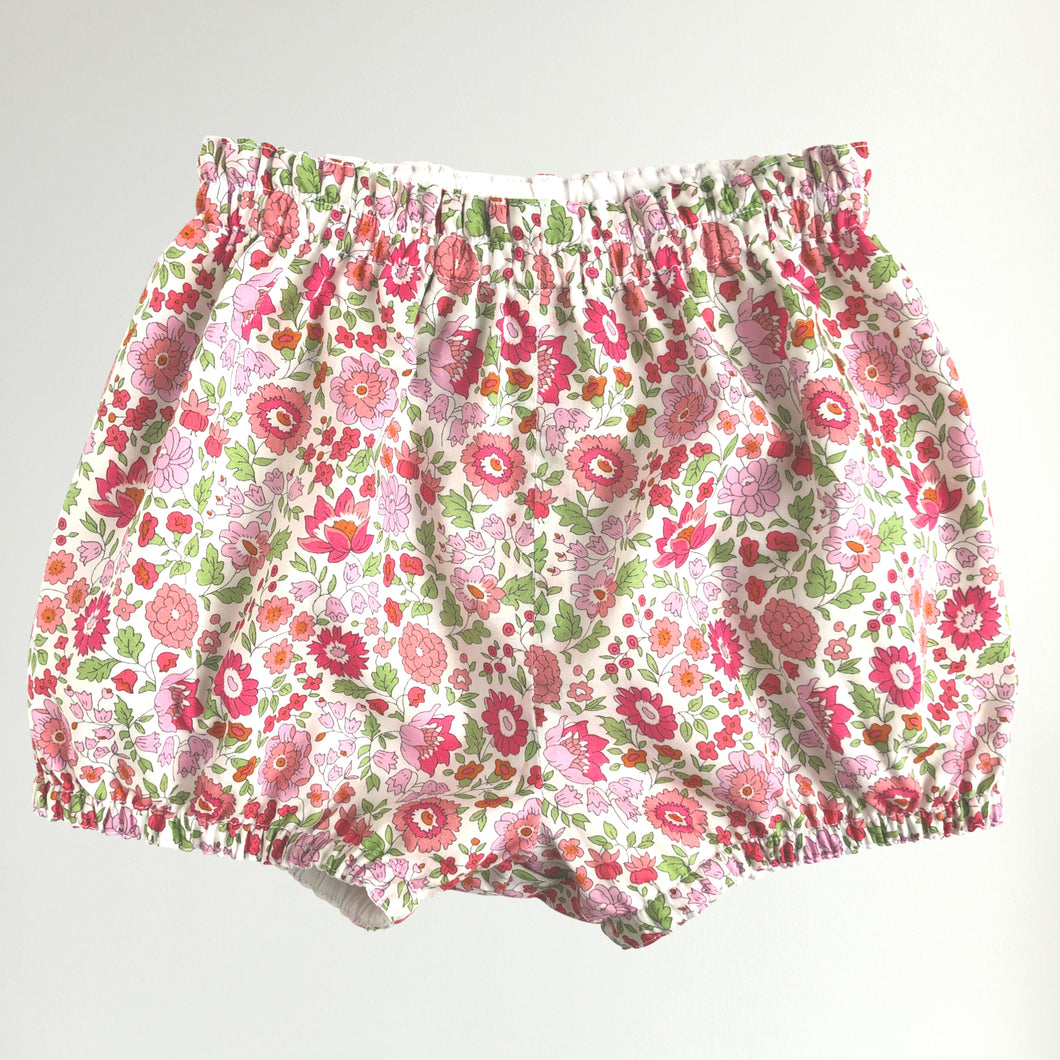 Liberty print baby bloomer shorts - D'Anjo
