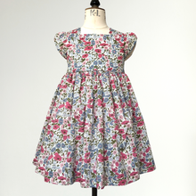 Load image into Gallery viewer, Liberty Print Occasion Party Dress | Baby - Girls |  Pink Poppy & Daisy Print