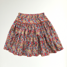 Load image into Gallery viewer, Liberty Print Tana Lawn Girls Skirt | Red Emma & Georgina